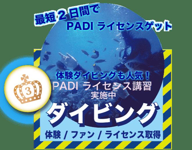 セブ島 体験ダイビング PADI ライセンス講習 ファンダイビング