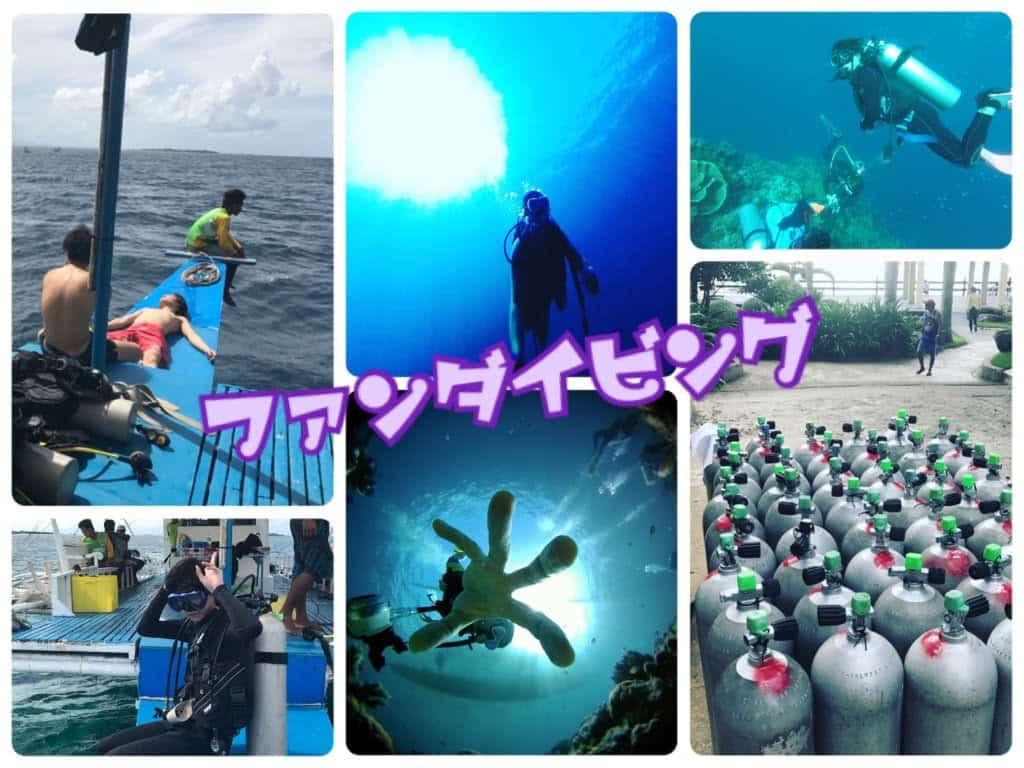 ファンダイビング(ビーチ/マクタン島/離島)