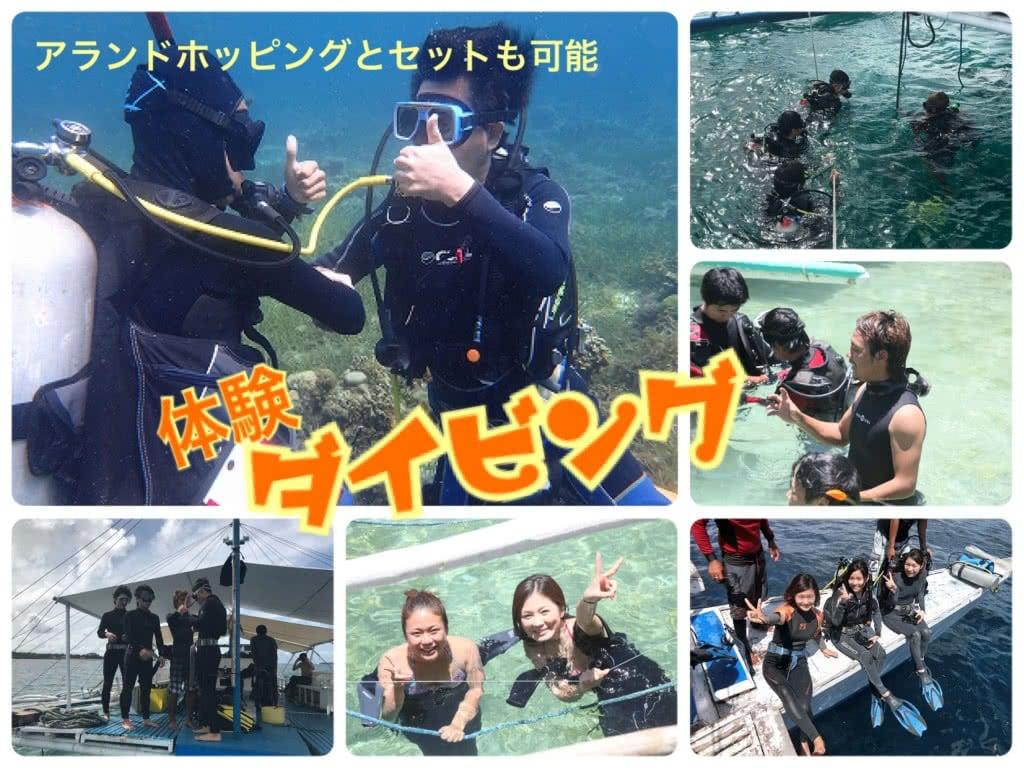 【体験ダイビング】(マクタン島/離島)