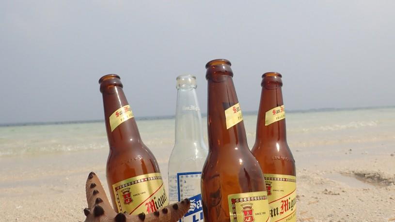 セブ島で飲むビール